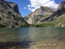Meer in Montana Royalty-vrije Stock Afbeeldingen