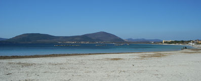 Meer nahe Alghero lizenzfreies stockfoto