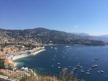 Meer in Nizza Lizenzfreies Stockfoto