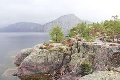 Meer in Noorwegen Royalty-vrije Stock Fotografie