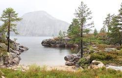 Meer in Noorwegen Stock Foto