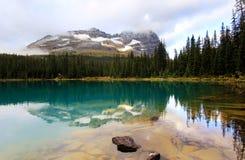 Meer O'Hara, Yoho National Park, Canada Royalty-vrije Stock Foto