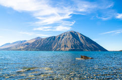 Meer Ohau, Nieuw Zeeland Royalty-vrije Stock Foto