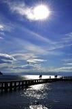 Meer Ohrid Stock Afbeeldingen