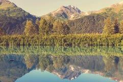 Meer op Alaska Stock Fotografie