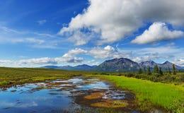Meer op Alaska Stock Afbeeldingen