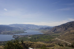 Meer Osoyoos, Zuiden van Britsh Colombia, Canada Royalty-vrije Stock Foto