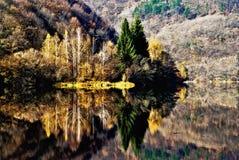 Meer Pancharevo, de herfst royalty-vrije stock foto