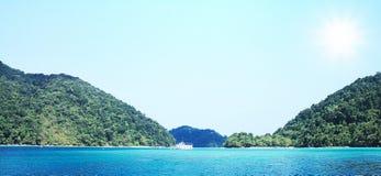 Meer in Phuket Thailand Lizenzfreie Stockfotografie
