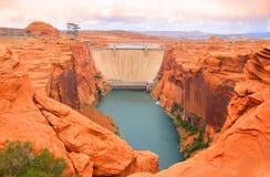 Meer Powell Dam Stock Foto's