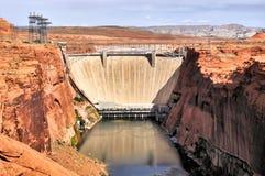 Meer Powell Dam Stock Foto