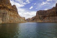 Meer Powell, Utah royalty-vrije stock fotografie