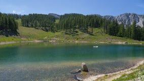 Meer reservs in hoge alpiene bergen Royalty-vrije Stock Fotografie