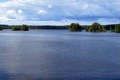 Meer Ruotsalainen, Hevossaari, Heinola, Finland stock foto