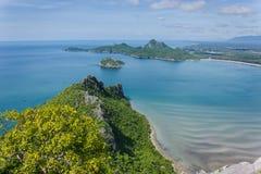 Meer sieht Manao Bay an Lizenzfreies Stockfoto