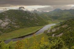 Meer Skadar in Montenegro Royalty-vrije Stock Afbeeldingen
