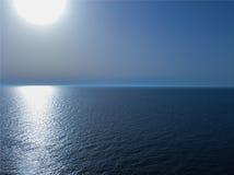 Meer Sun Lizenzfreie Stockbilder