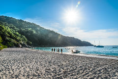 Meer-Sun-Sand Stockfotografie