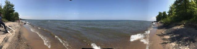 Meer Superieure kust stock fotografie