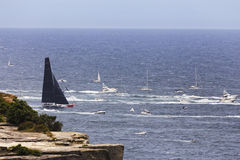 Meer Sydney Hobart Leader Head Lizenzfreie Stockfotos