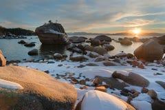 Meer Tahoe Californië Royalty-vrije Stock Afbeeldingen