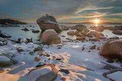 Meer Tahoe Californië Stock Fotografie