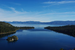 Meer Tahoe, Californië royalty-vrije stock foto