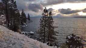 Meer Tahoe Californië stock afbeelding