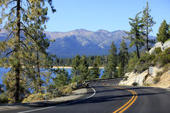 Meer Tahoe Californië Royalty-vrije Stock Foto's
