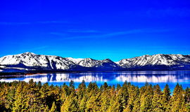 Meer Tahoe, Californië stock foto's