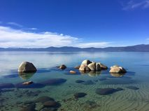Meer Tahoe, Californië, de V stock fotografie