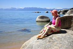 Meer Tahoe, Californië. Stock Fotografie