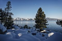 Meer Tahoe de V.S. stock foto