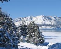 Meer Tahoe in de Winter 2 Stock Afbeelding