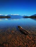 Meer Te Anau, Nieuw Zeeland Stock Foto's