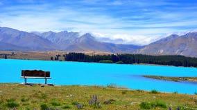 Meer Tekapo. Nieuw Zeeland Royalty-vrije Stock Foto
