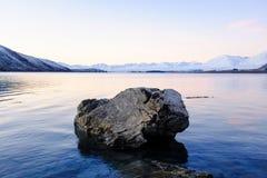 Meer Tekapo, Nieuw Zeeland Stock Afbeeldingen