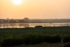 Meer Tengrela, Burkina Faso stock foto