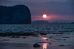 Meer in Thailand lizenzfreie stockfotografie