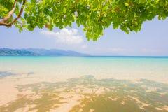 Meer in Thailand Lizenzfreies Stockbild