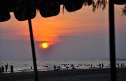 Meer in Thailand Stockbild