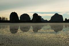 Meer Thailand. Reflexion Lizenzfreies Stockbild