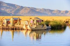 Meer Titicaca, Peru stock afbeeldingen