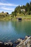 Meer Trubsee, Engelberg, Zwitserland royalty-vrije stock foto's