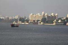 Meer in Udaipur Royalty-vrije Stock Afbeeldingen