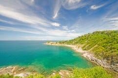 Meer und blauer Himmel Lizenzfreie Stockfotos