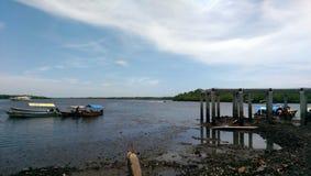 Meer und Boote Lizenzfreie Stockfotos