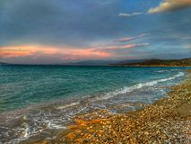 Meer und Farben Stockfotografie