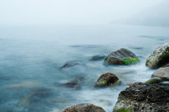 Meer und Felsen Lizenzfreie Stockfotos