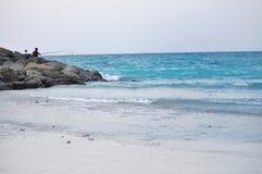 Meer und Fischen lizenzfreie stockfotografie